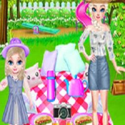 Elsa's Family Picnic Day