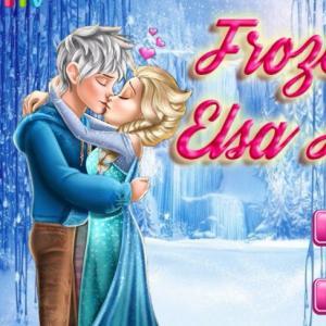 Frozen Elsa Kiss