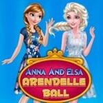 Anna And Elsa Arendelle Ball