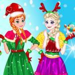 Elsa And Anna Christmas Day