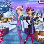 Frozen Winter Dress Up